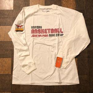 Men's Nike Basketball Long Sleeve Tech Fleece 97